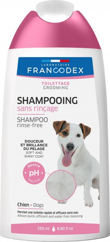 Francodex Shampoing Lotion sans rinçage pour chiens 250ml