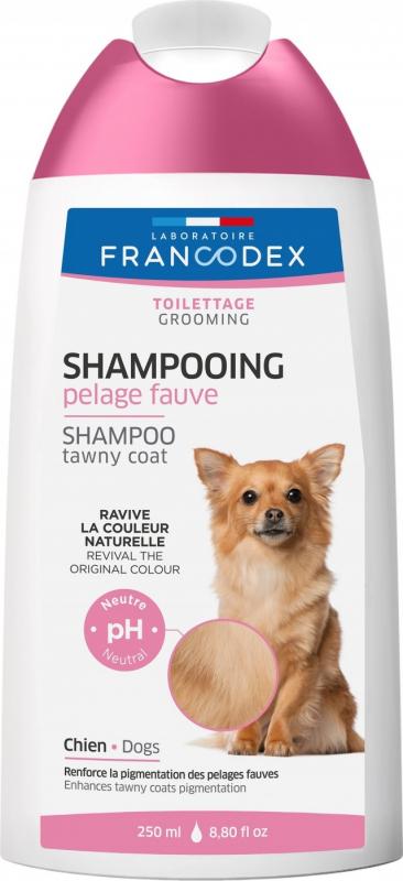 Francodex Shampooing Pelage Fauve pour chiens 250ml