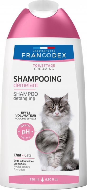 Francodex shampooing Démêlant 2en1 Chat 250ml