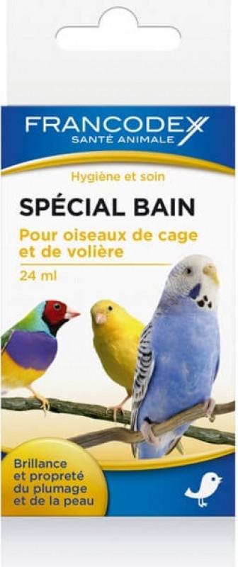 Francodex Spécial Bain 24ml - Brillance et propreté du plumage et de la peau