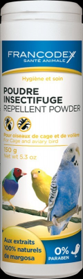 Repellent Powder for Cage and Aviary Birds