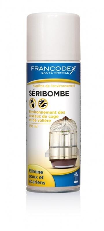 S ribombe a rosol 150ml elimine poux et acariens anti parasites et soins oiseaux - Bombe anti acarien ...