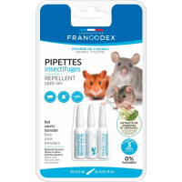 Francodex Flea and Tick Treatment for Rats, Mice and Hamsters