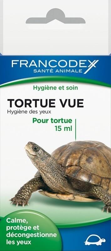 Tortue Vue: Oogverzorging schildpadden 15ml - Kalmeert en beschermt de ogen