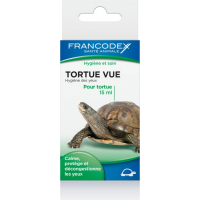 Francodex Tortue Vue 15ml - Calma, protegge e decongestiona gli occhi