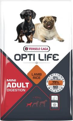 OPTI LIFE Mini Adult Digestion agneau et riz