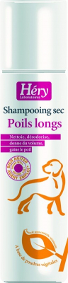 Shampooing sec poil long