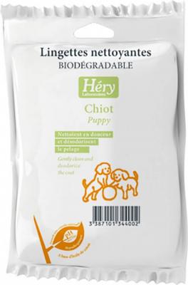 Lingettes chiots