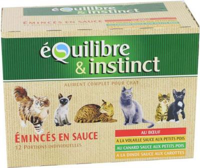 Pack sachets fraîcheur Emincés en sauce pour chat adulte