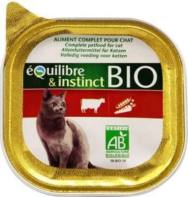 Paté de buey especial BIO para gato