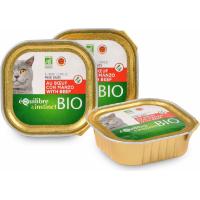 Equilibre & Instinct Pâtée BIO pour chat au Boeuf et aux légumes
