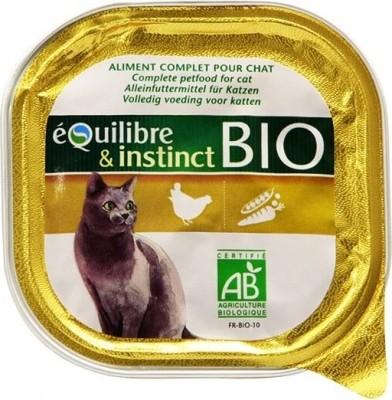 Pâtée volaille Bio chat