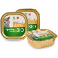 Equilibre & Instinct Pâtée BIO pour chat Volaille et légumes