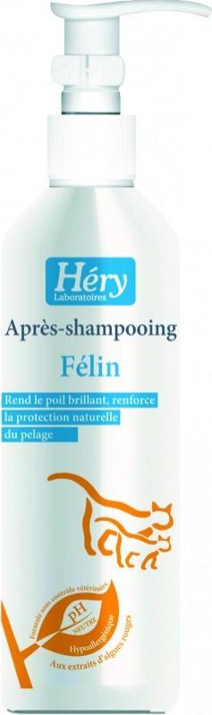 Après-shampooing félin