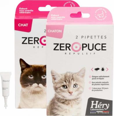 Pipetas Zéro Puces para gatitos