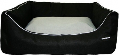 Corbeille waterproof noire/taupe