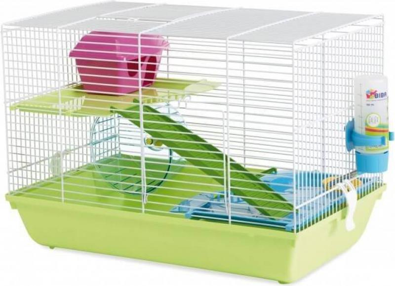 Cage pour Hamster et petit rongeur - 46,5 cm - Martha Double