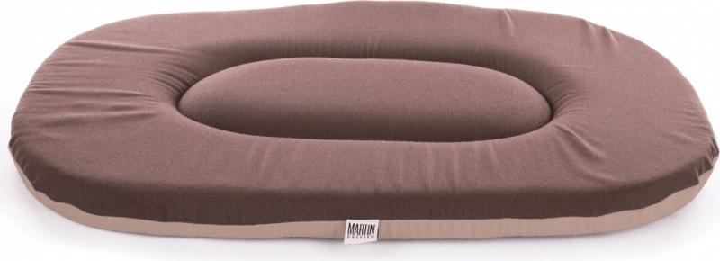 Tapis ovale - Marron chocolat, 50 à 100cm