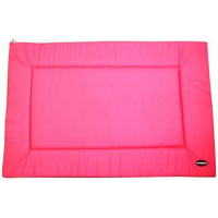 Tapis plat rectangulaire rose - Plusieurs tailles