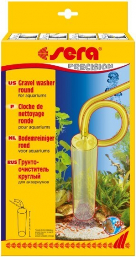 Sera round gravel washer for aquariums vacuum cleaners for Aspirarifiuti sera gravel cleaner