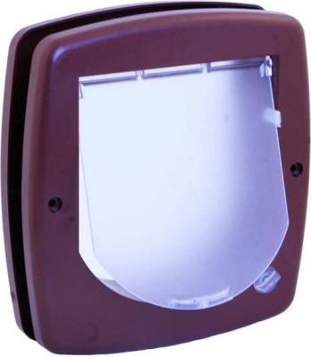 Gatera manual 2 posiciones marrón
