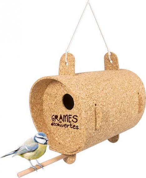 Das Vogelhaus zum aufhängen