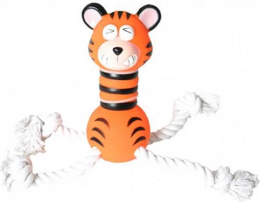 Jouet vinyle/corde Super tigre