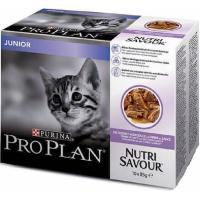 PRO PLAN NutriSavour Junior Pâtée à la dinde en sauce pour chaton
