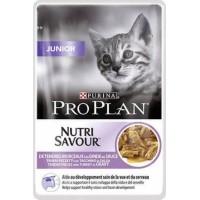 PRO PLAN Junior Pâtée à la dinde en sauce pour chaton (1)