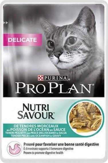 PRO PLAN Delicat Pâtée au poisson en sauce pour chat