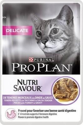 PRO PLAN Delicat Pâtée à la dinde en sauce pour chat