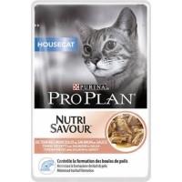 PRO PLAN Housecat Pâtée au saumon en sauce pour chat