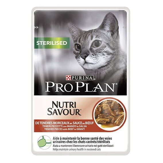 Purina Pro Plan Sterilised with Beef _0