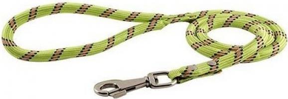 Laisse corde en nylon Vert anis