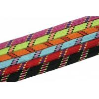 Collier étrangleur corde nylon - Divers coloris