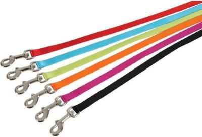 Laisse en nylon unie - Divers coloris