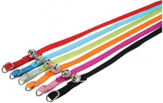 Collier en nylon réglable - Divers coloris