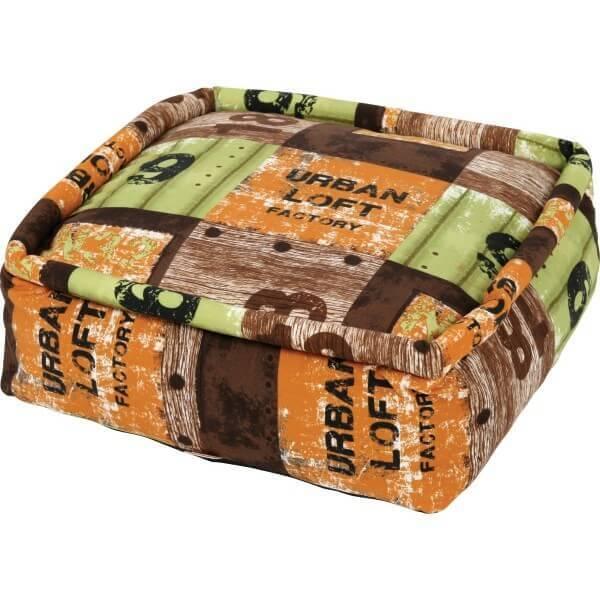 pouf d houssable loft coussin et tapis. Black Bedroom Furniture Sets. Home Design Ideas