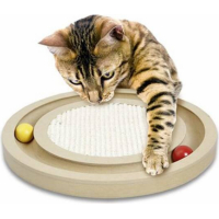 Infinity Cat scratching toy