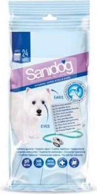 Lingettes spéciales yeux et oreilles pour chien