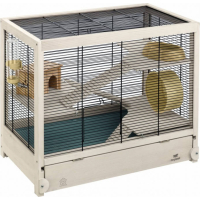 Cage en bois Hamsterville pour Hamster