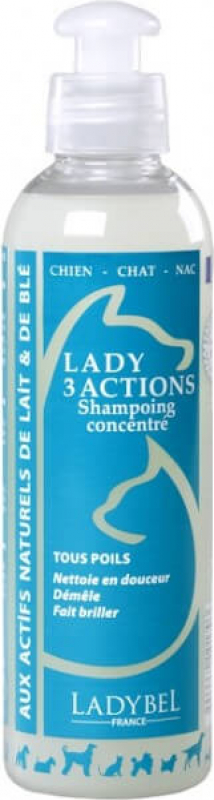 Shampooing LADY 3 ACTIONS