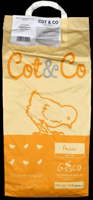 Cot&Co Poussin Miettes