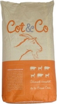 Cot&Co Cabra enana 25 kg