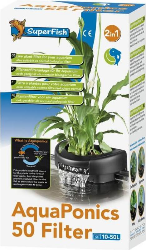 Filtre interne aquaponics 50 & 100