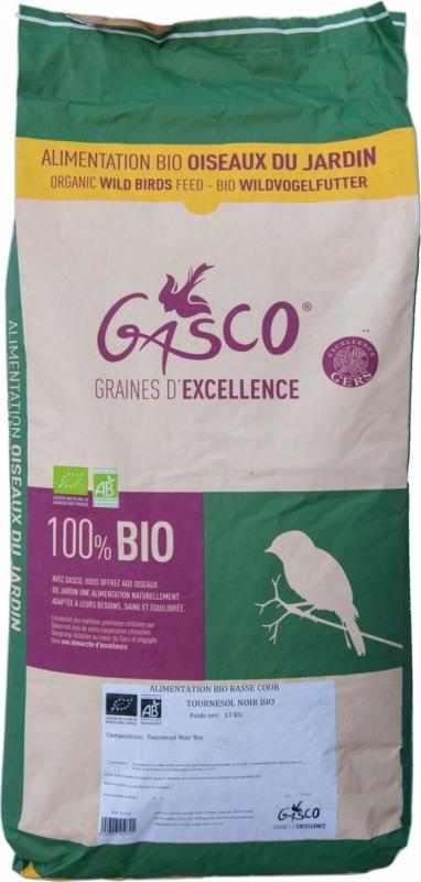 Semi di girasole nero BIO per uccelli