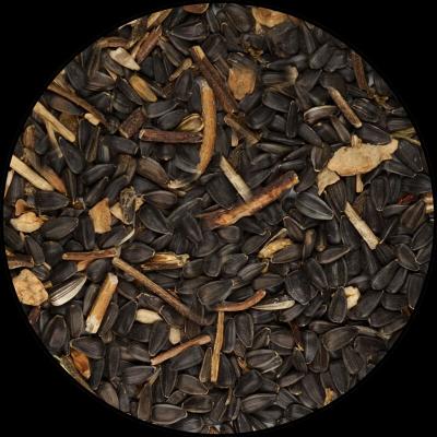 Tournesol Noir BIO pour oiseaux - 15 kg