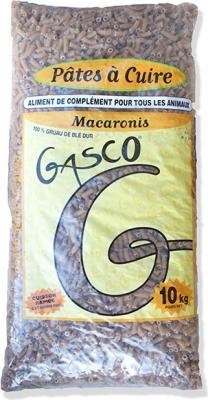 Pâtes à Cuire pour chien Macaronis 10 kg