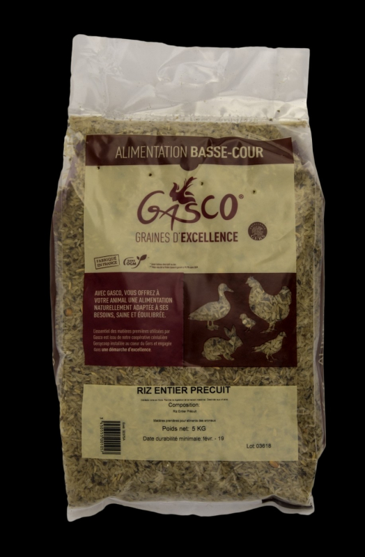 Whole Precooked Dog Rice 20kg