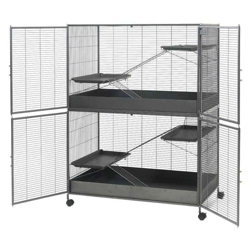 Cage Savic Suite Royal XL 115 pour Chinchilla et Furet_2